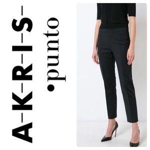 Akris Punto Franca Slim Leg Ankle Pants Sz 4